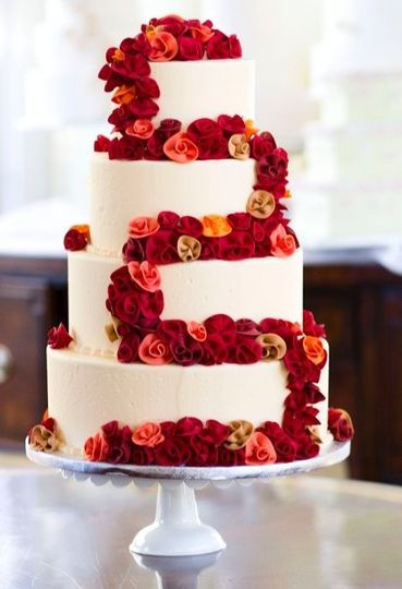 Wedding Cakes Winston Salem  Dewey s Bakery Wedding Cake Winston Salem NC