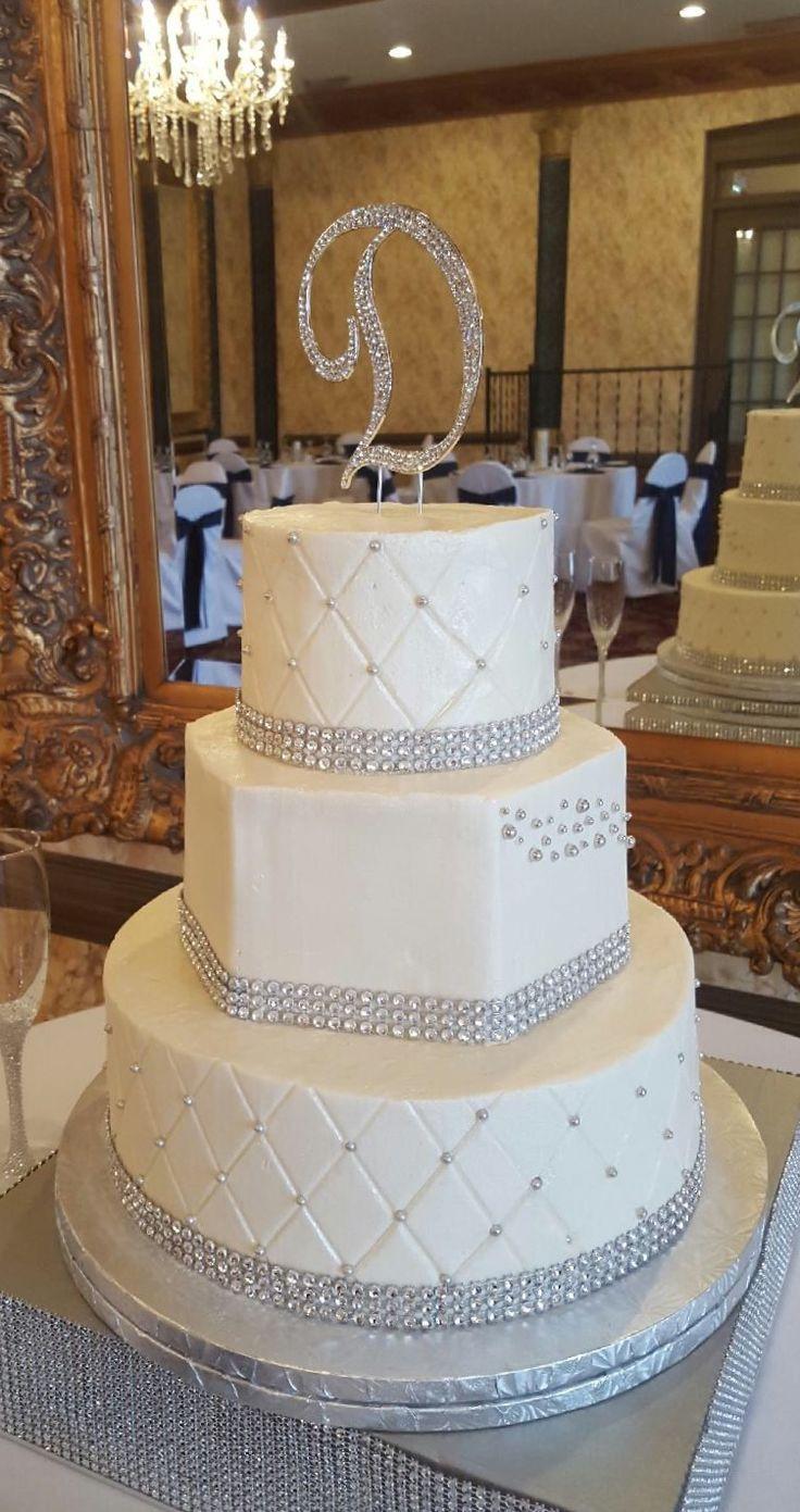 Wedding Cakes With Bling  25 bästa Bling wedding cakes idéerna på Pinterest