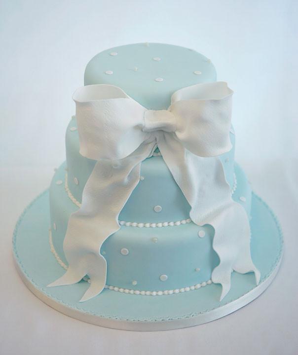 Wedding Cakes With Bows  Wedding Cake with Bow Sweet Sense of Cake