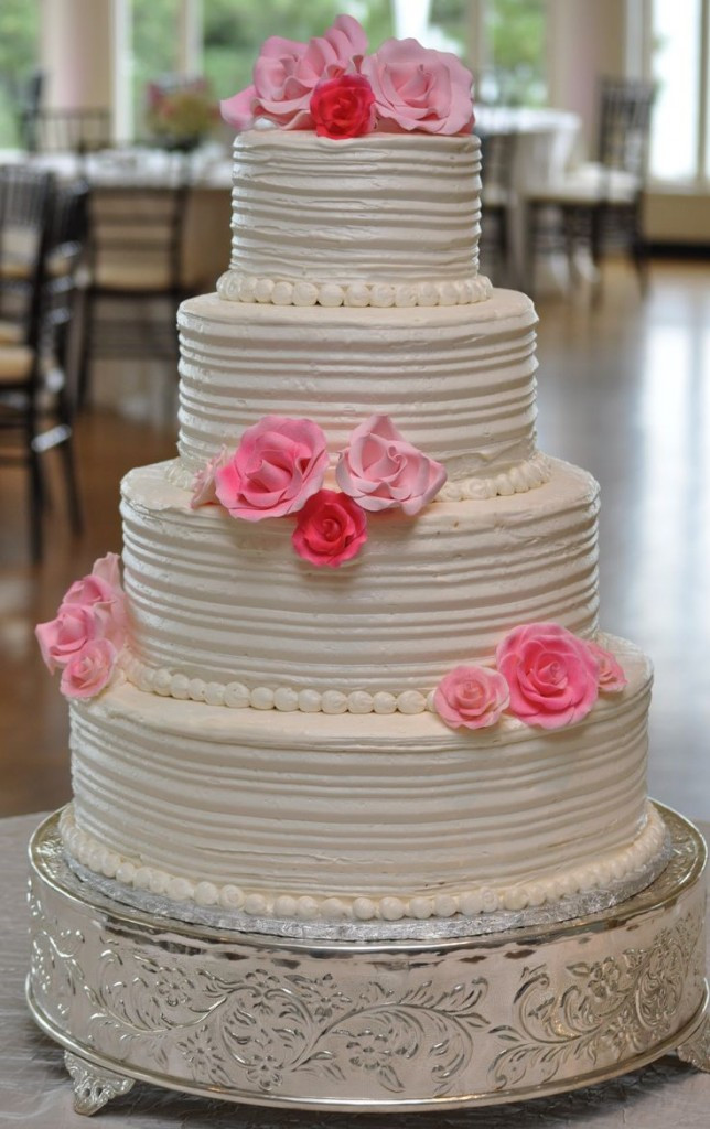 Wedding Cakes With Buttercream Icing  Wedding Cake Buttercream Frosting Wedding and Bridal