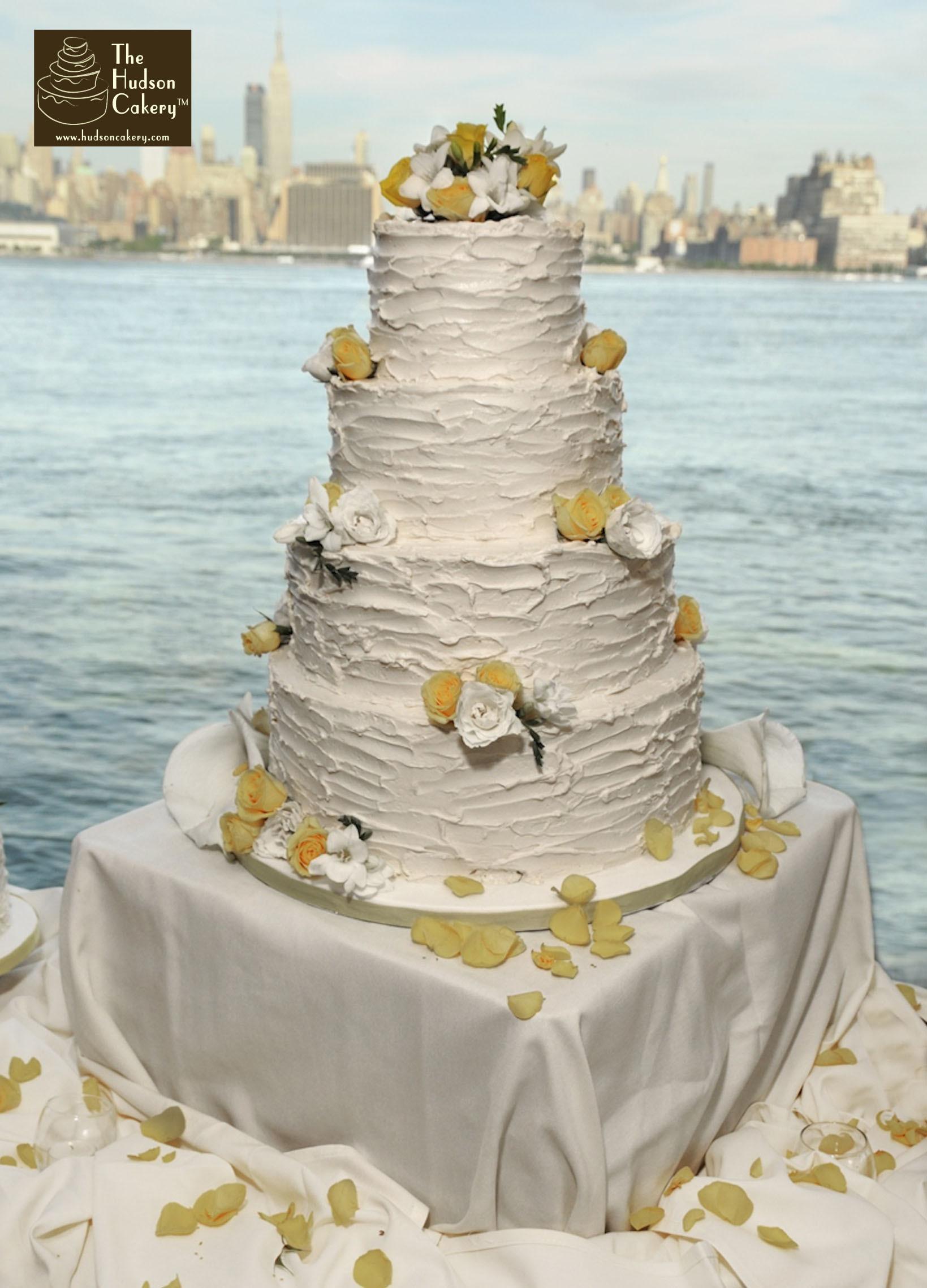 Wedding Cakes With Buttercream Icing  Buttercream Wedding Cake