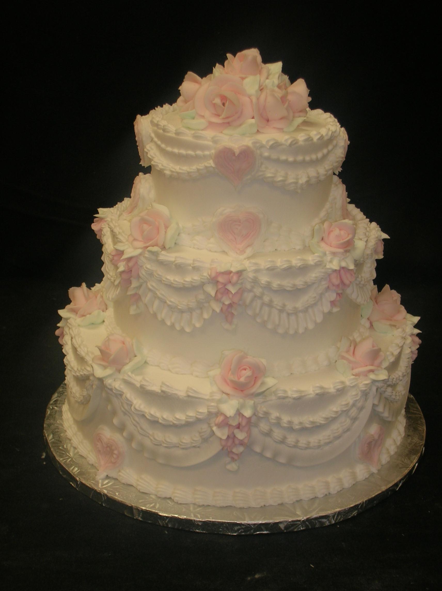 Wedding Cakes With Buttercream Icing  Buttercream wedding cake ideas idea in 2017