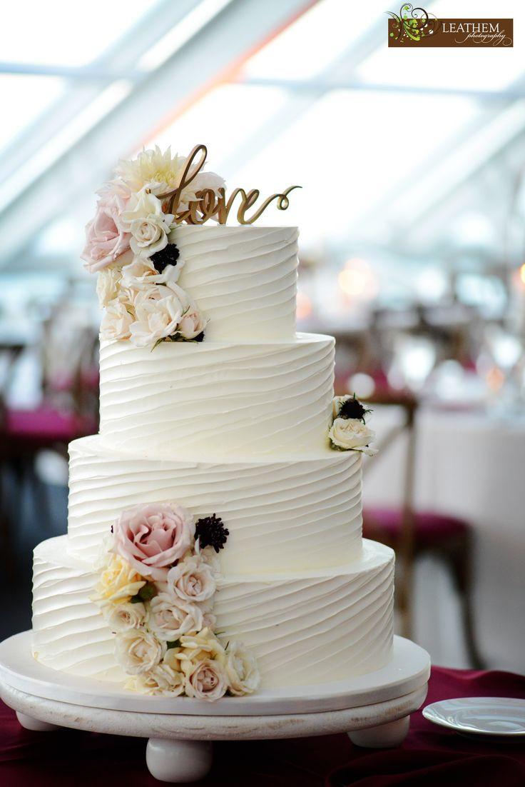 Wedding Cakes With Buttercream Icing  Best 25 Buttercream wedding cake ideas on Pinterest