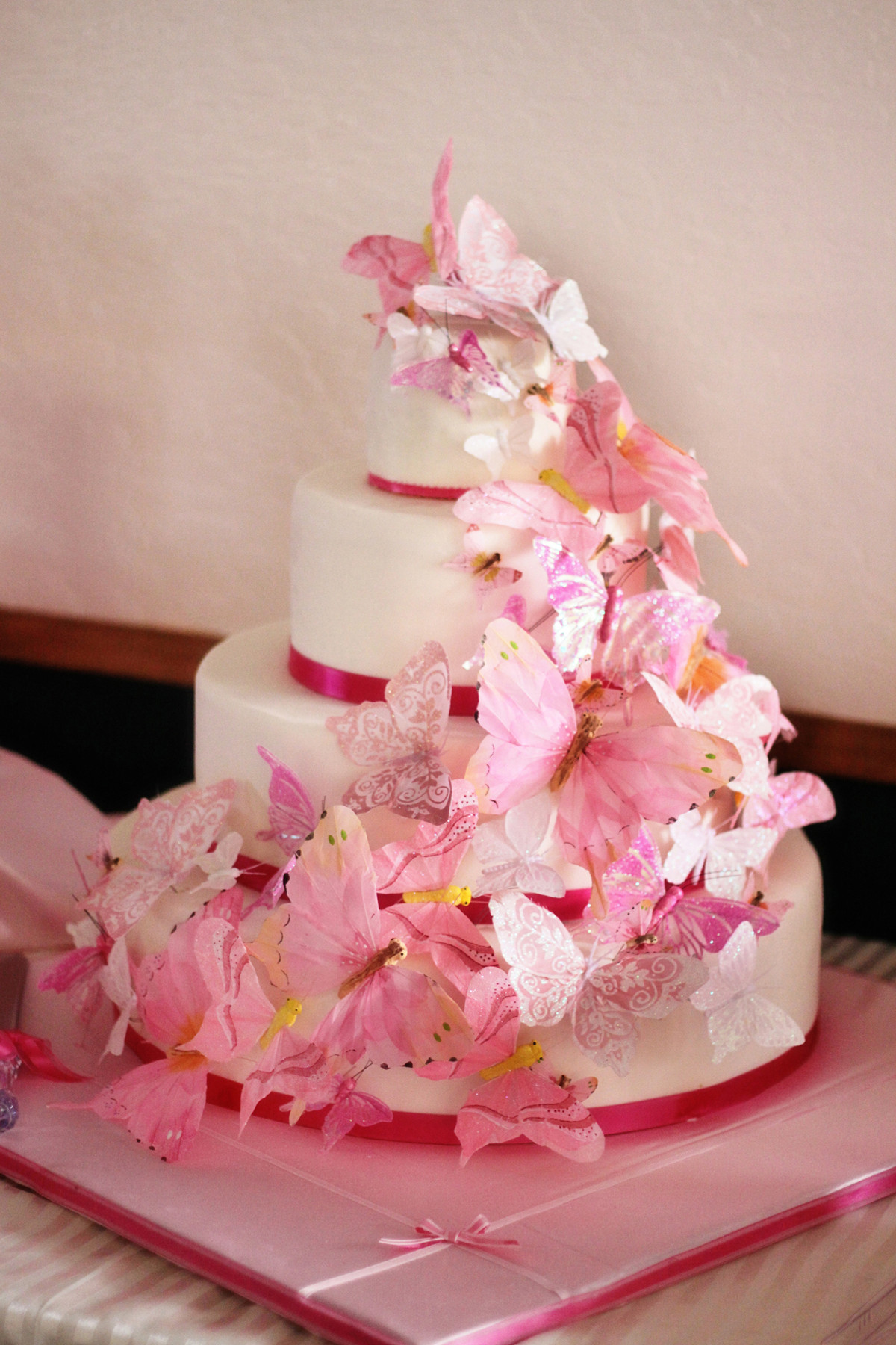 Wedding Cakes With Butterfly  Butterfly Cakes – Decoration Ideas