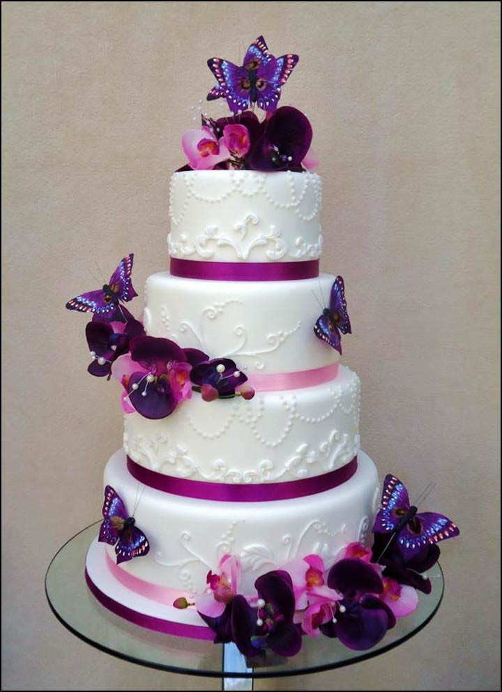 Wedding Cakes With Butterfly  10 Unique Butterfly Themed Wedding Decorations You Must See