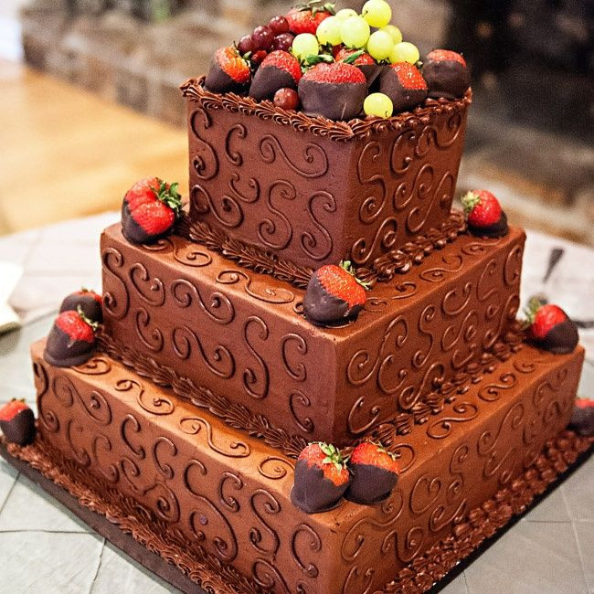 Wedding Cakes With Chocolate Covered Strawberries  Chocolate covered strawberry groom s cake