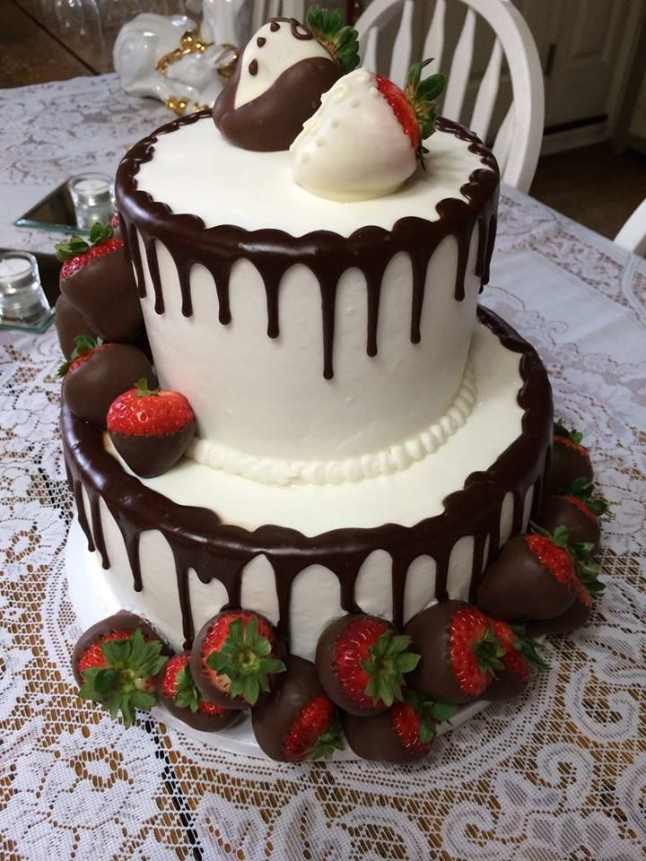 Wedding Cakes With Chocolate Covered Strawberries  18 best Wedding Cakes Birthday Cakes and Other Special