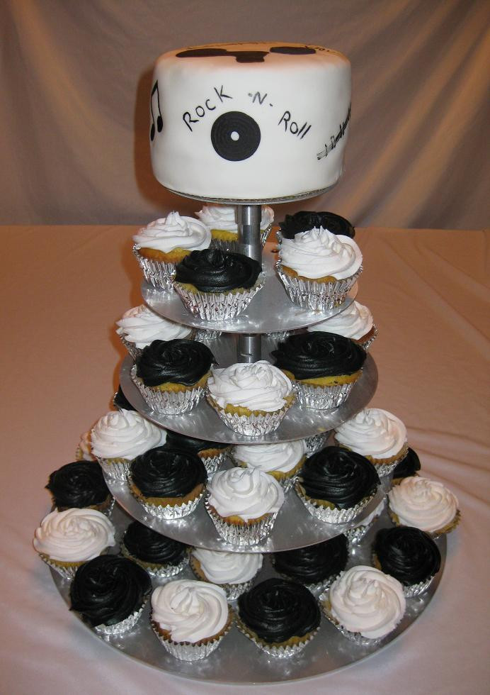Wedding Cakes With Cupcakes On Tiers  Cupcake Tiers for Weddings Wedding and Bridal Inspiration