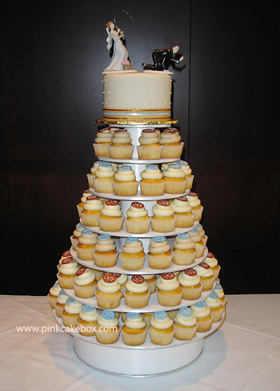 Wedding Cakes With Cupcakes On Tiers  Wedding Cupcake Tier Wedding Cupcake Stands