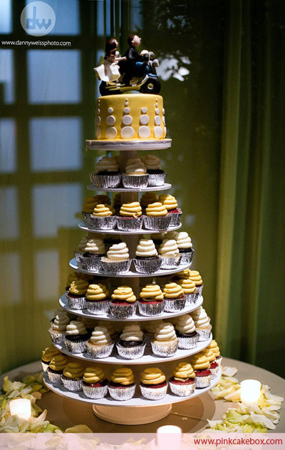 Wedding Cakes With Cupcakes On Tiers  Wedding Cupcake Stand Wedding Cupcake Stands