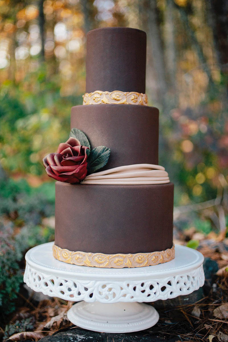 Wedding Cakes With Fondant  A Delicious Foolproof Chocolate Fondant Recipe