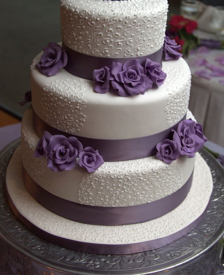 Wedding Cakes With Fondant  Fondant Wedding Cakes Pinterest