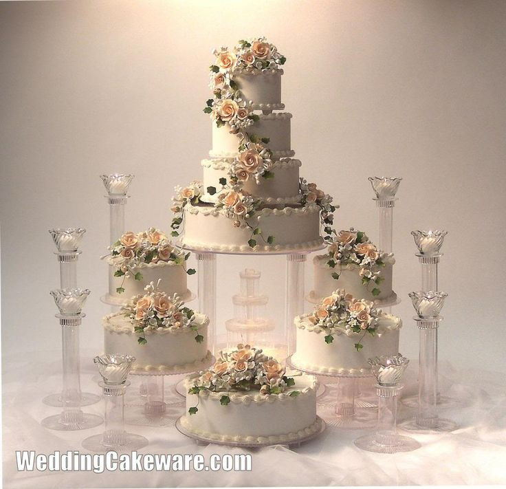 Wedding Cakes With Fountain  of wedding cakes with fountains idea in 2017