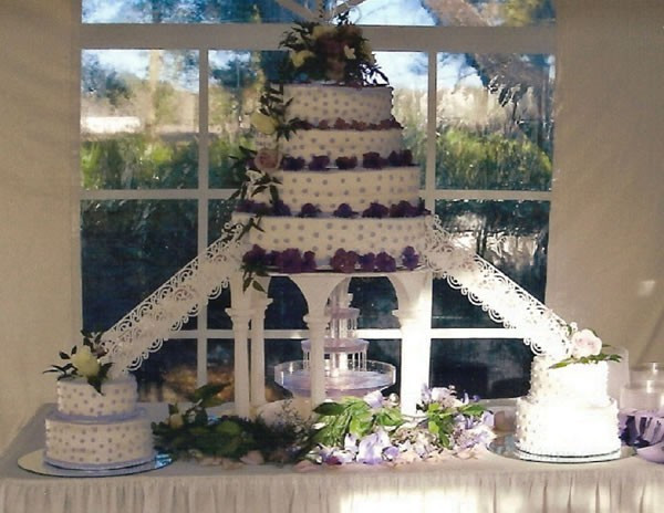Wedding Cakes With Fountain And Stairs  Glambox Beautiful make up is our hallmark Cakes Small