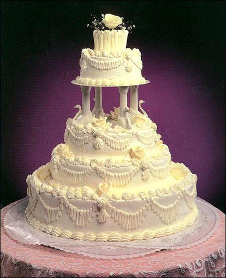 Wedding Cakes With Fountain And Stairs  Wedding Cakes With Fountains And Stairs 2012