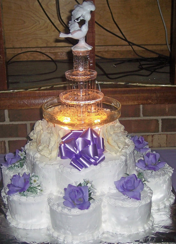 Wedding Cakes With Fountain  Wedding Cakes With Fountains – WeNeedFun