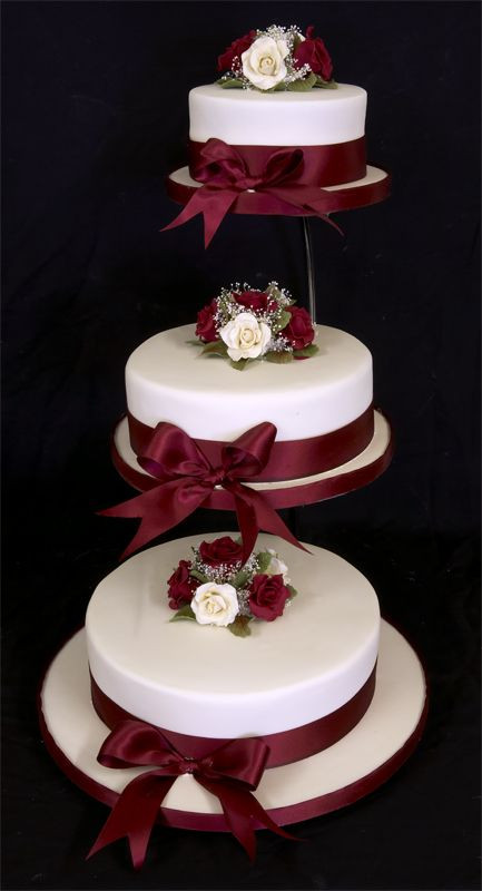 Wedding Cakes With Fountains And Lights  wedding cakes