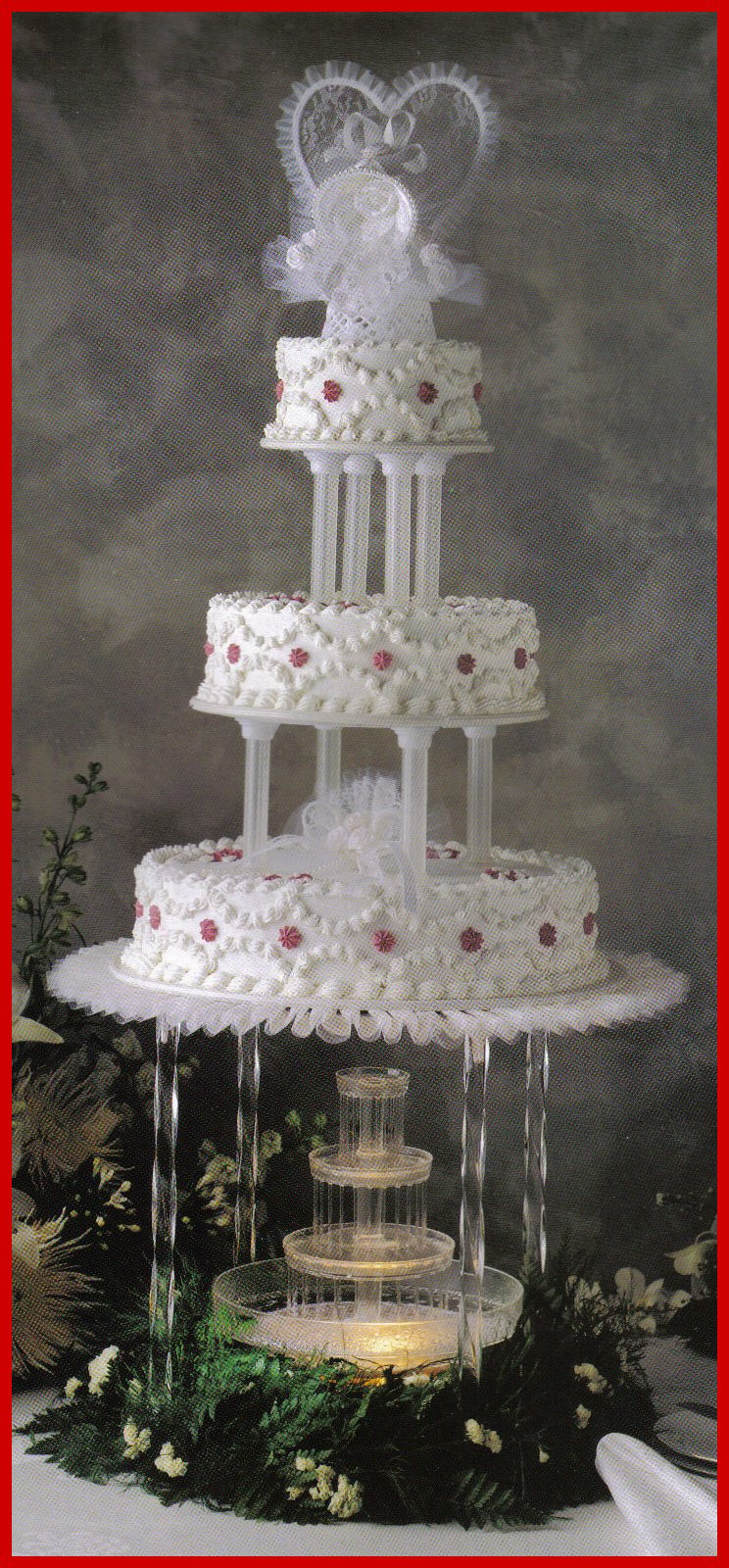 Wedding Cakes With Fountains And Lights  Wedding cakes with fountains and lights idea in 2017