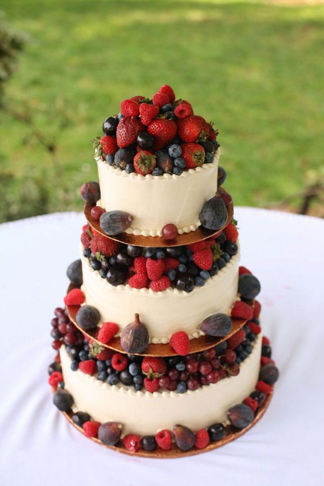 Wedding Cakes With Fruit  Fruit Themed Wedding Cakes