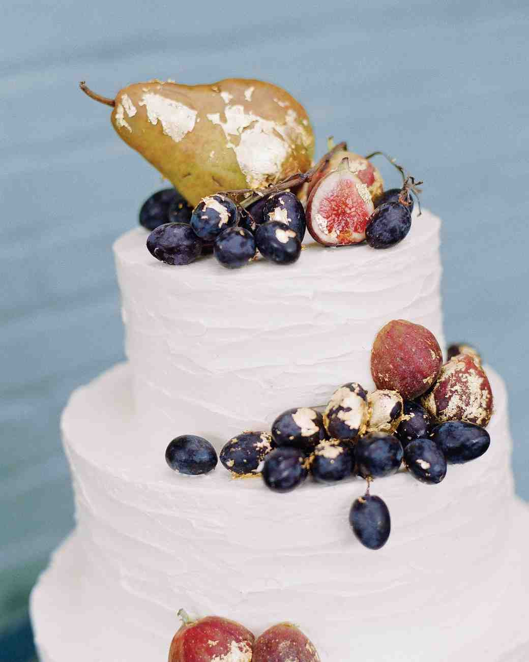 Wedding Cakes With Fruit  42 Fruit Wedding Cakes That Are Full of Color and Flavor