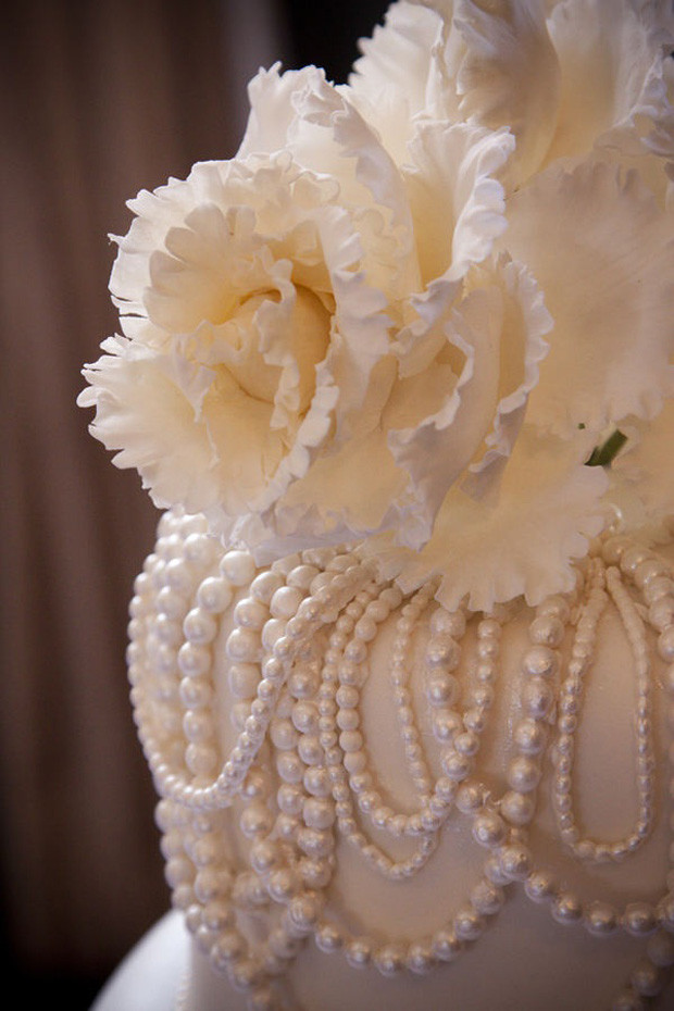Wedding Cakes With Pearls  Pearl Wedding Ideas & Inspiration