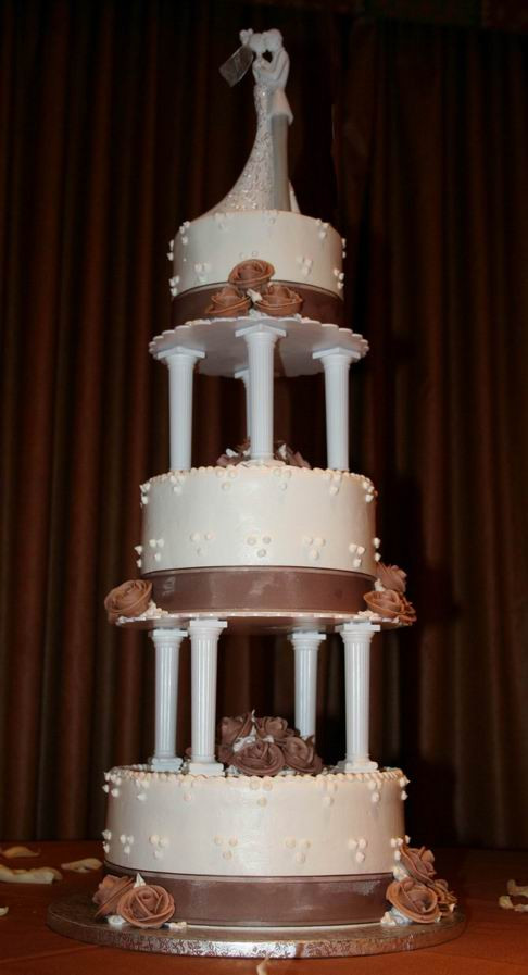 Wedding Cakes with Pillars 20 Ideas for Gothic Wedding Dress Wedding Cake Pillars