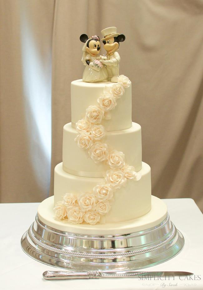 Wedding Cakes With Pillars  Wedding Cakes – Simplicity Cakes by Sarah