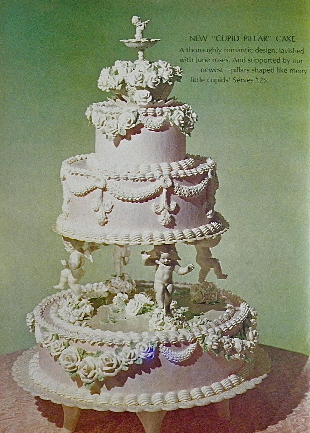 Wedding Cakes With Pillars  Good Things by David Vintage Wilton Wedding Cakes