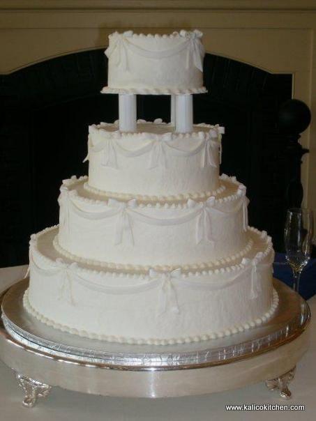 Wedding Cakes With Pillars  86 best Pillar Wedding Cakes images on Pinterest