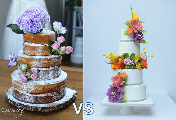 Wedding Cakes With Real Flowers  Guest Post Wedding Cake – Real Flowers vs Sugar Flowers