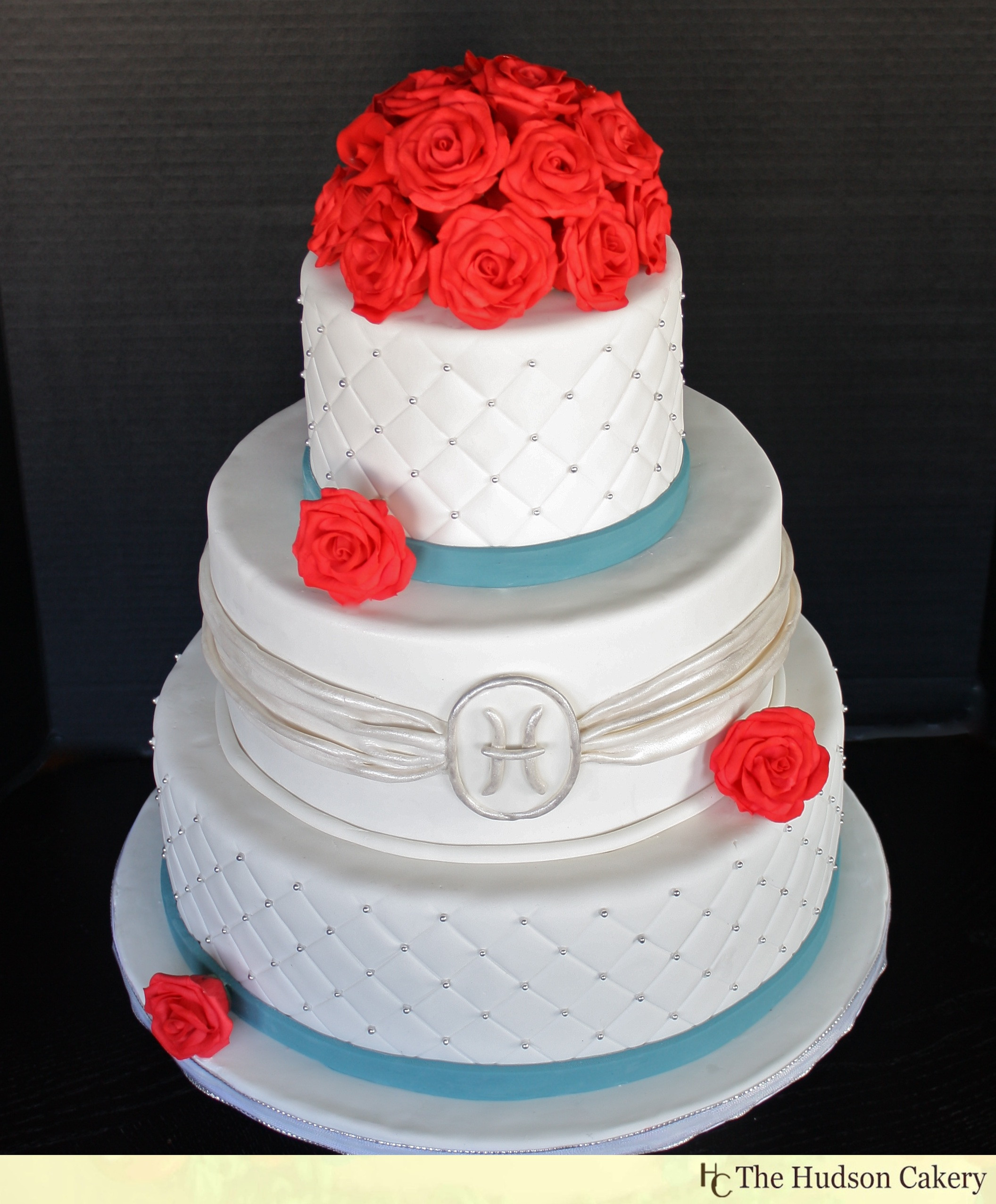Wedding Cakes With Red  Wedding Ideas Teal Red and White Wedding