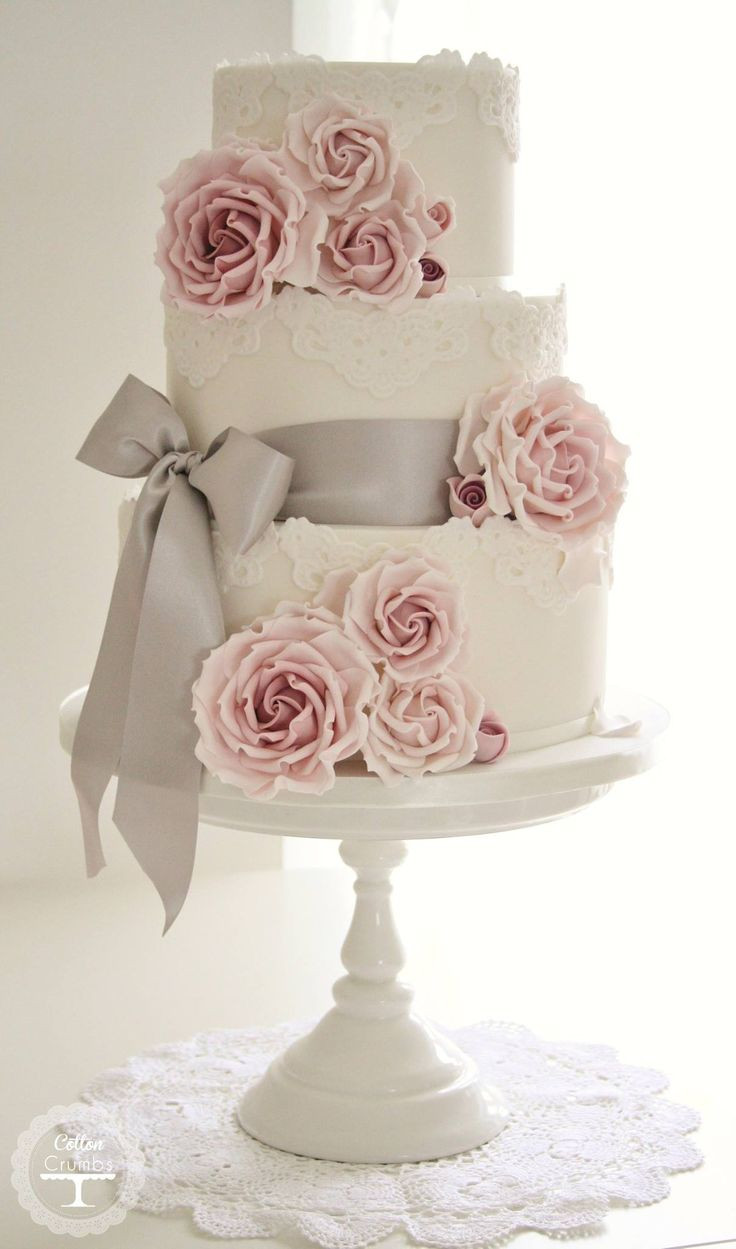Wedding Cakes With Roses  Top 20 wedding cake idea trends and designs 2017