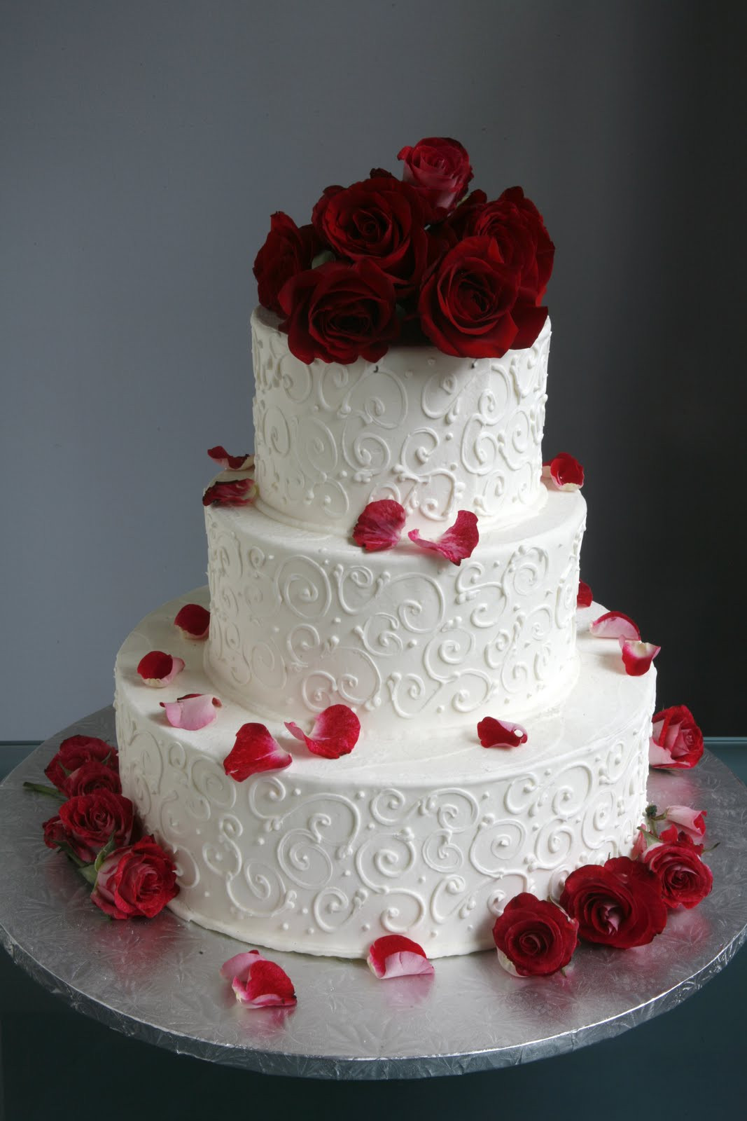 Wedding Cakes With Roses  A Simple Cake May 2011