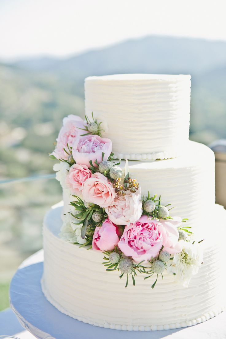 Wedding Cakes With Roses  Wedding Cake Tips of Tiers