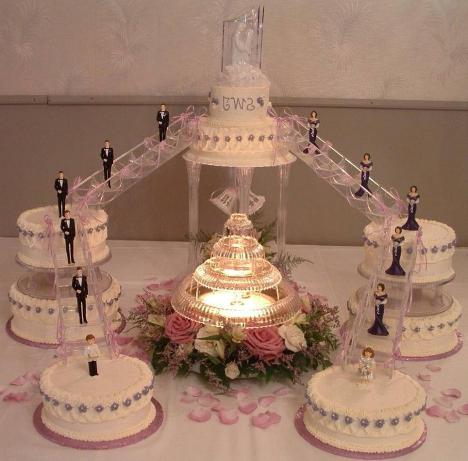 Wedding Cakes With Stairs And Fountains  Wedding Cakes With Fountains – WeNeedFun