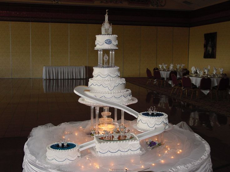 Wedding Cakes With Stairs And Fountains  25 best images about Wedding Cakes with Fountains and