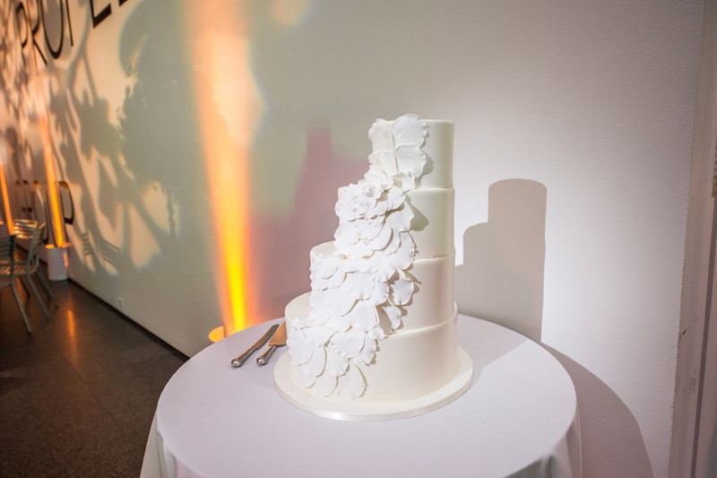 """Wedding Cakes With Stairs  Cakes & Desserts s """"Stair Like"""" White Wedding Cake"""