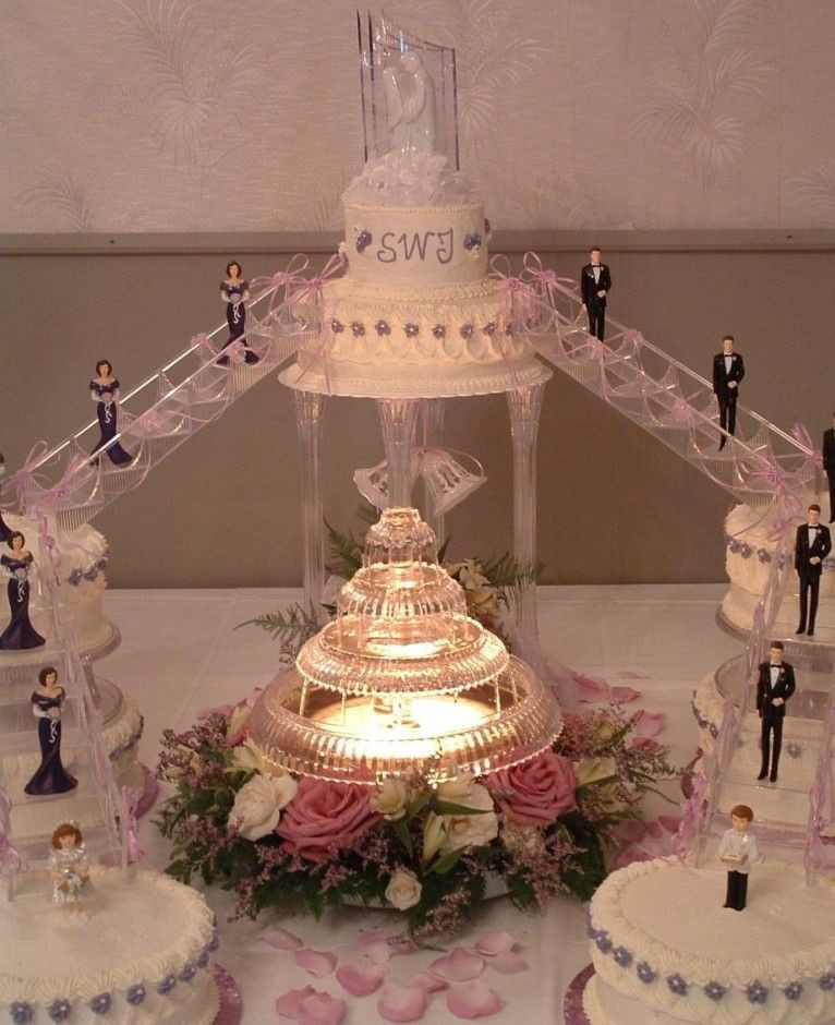 Wedding Cakes With Stairs  wedding cakes with stairways