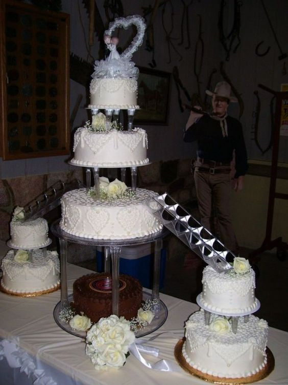 Wedding Cakes With Stairs  Wedding cakes with fountains and stairs