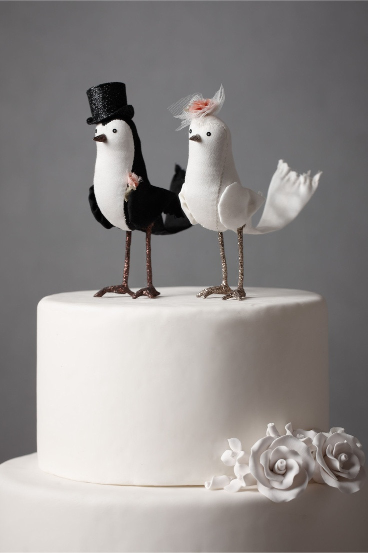 Wedding Cakes With Toppers  DIY and customisable Wedding Cake Toppers Chic Vintage