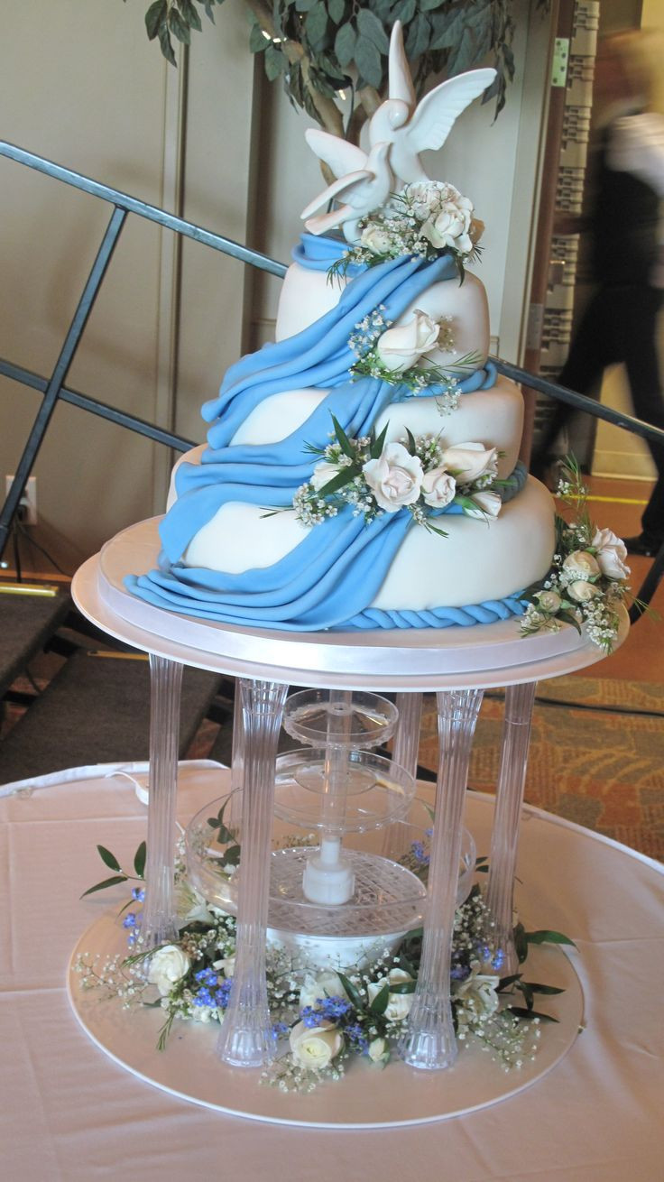 Wedding Cakes With Waterfalls  Waterfall Wedding Cake Cake Ideas and Designs