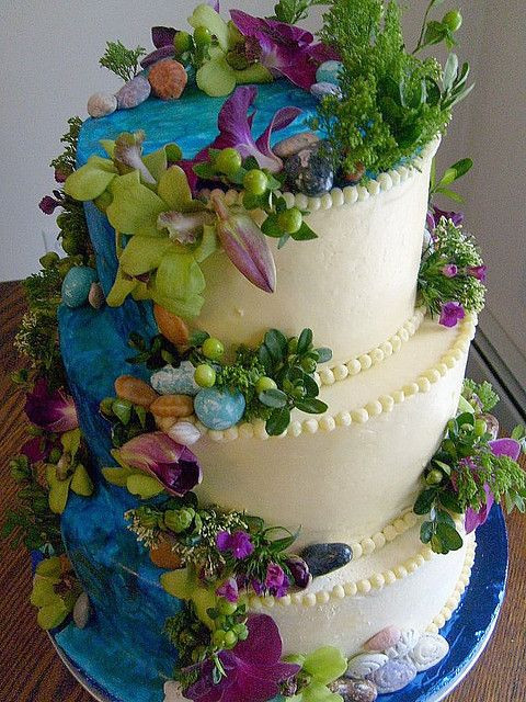 Wedding Cakes With Waterfalls  102 best images about Wedding Cakes on Pinterest