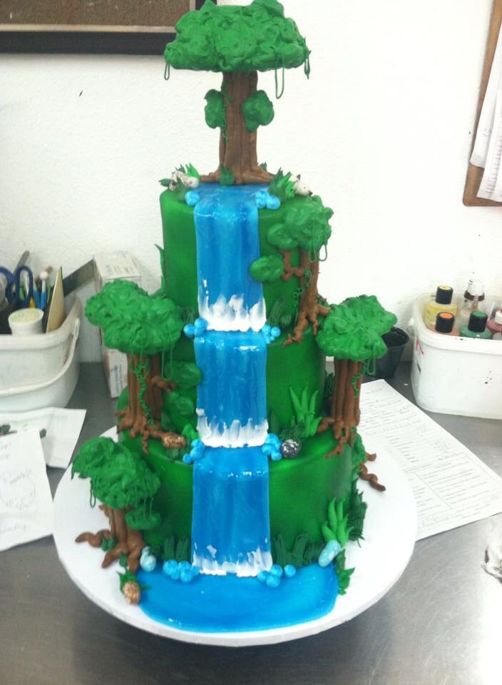 Wedding Cakes With Waterfalls  Waterfall Wedding Cake Wedding Cakes