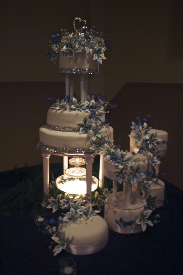 Wedding Cakes With Waterfalls  1000 images about Wedding cake on Pinterest
