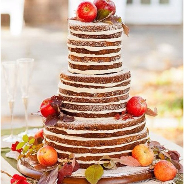 Wedding Cakes Without Frosting  Wedding cake without icing idea in 2017