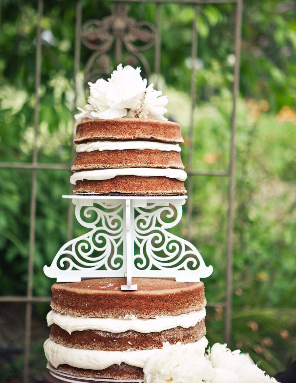 Wedding Cakes Without Frosting  Wedding Cakes Without Fondant Wedding Cakes Without Frosting