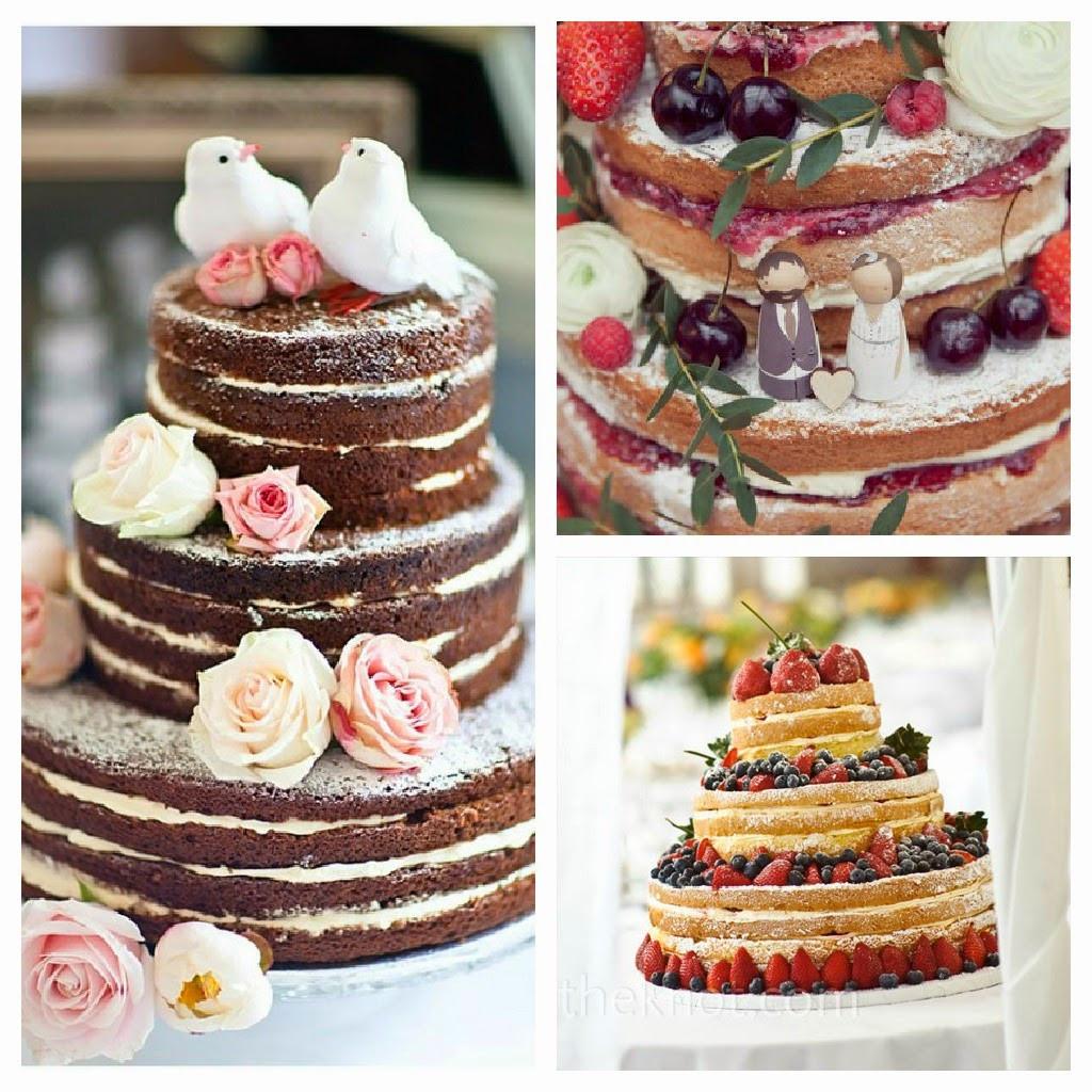 Wedding Cakes Without Frosting  Dulcitas junio 2014