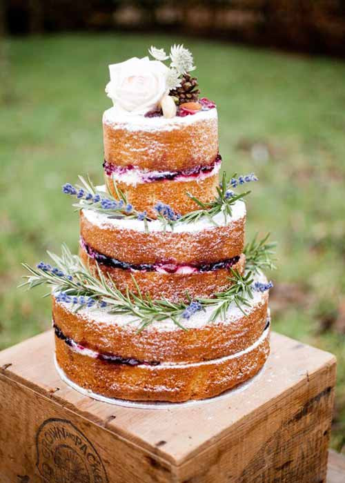 Wedding Cakes Without Frosting  These top 12 wedding cake trends for 2016 look too good to