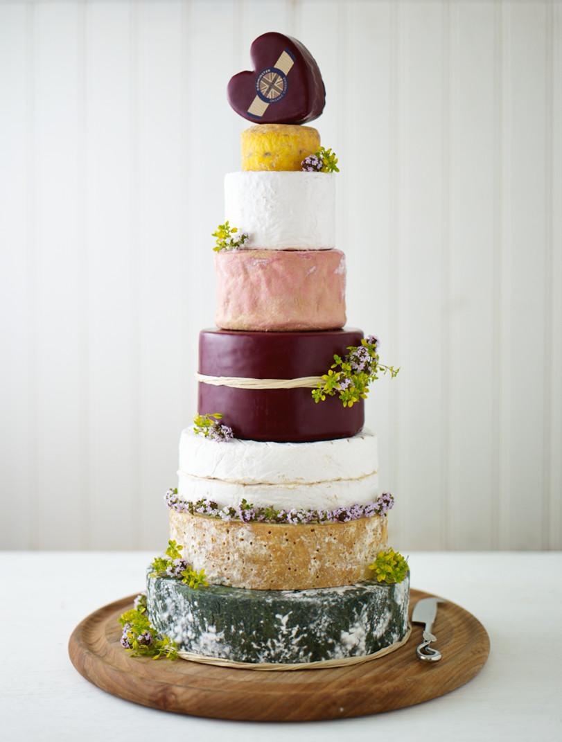 Wedding Cheese Cake  Sarah Cheese Wedding Cake