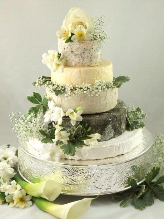 Wedding Cheese Cake  Cheese Wedding Cake or Tower to feed 110 Mixed Cake X